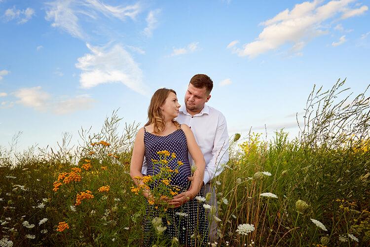 zdjęcia sesja ciążowa